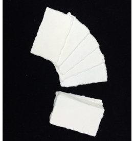A8002 Satz von 50 Karten Maulbeer Papier 9x5cm