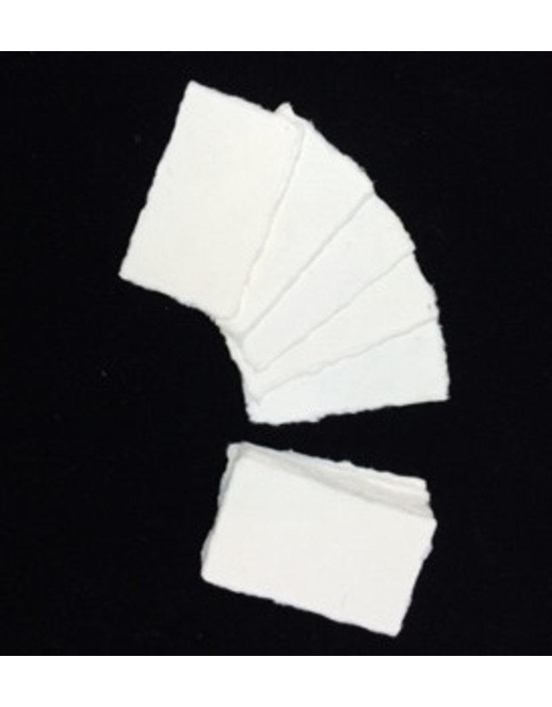 Set 50 kaartjes mulberry 9x5cm