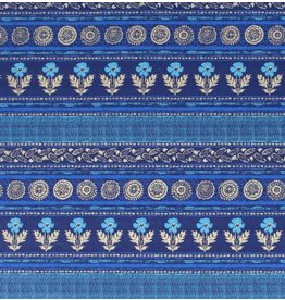 AE137 Baumwoll, Blume-Streifen