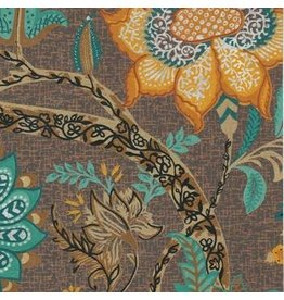AE148 Katoenpapier bloemdessin