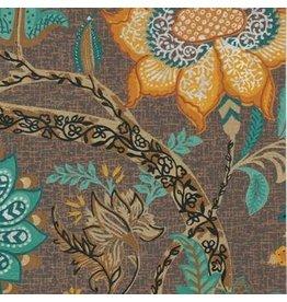AE148 Papier de coton a motif floral