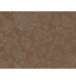AE151 Katoenpapier bloemenfantasie