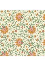 Katoenpapier bloemmotief
