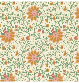 AE154 Papier de coton motif floral