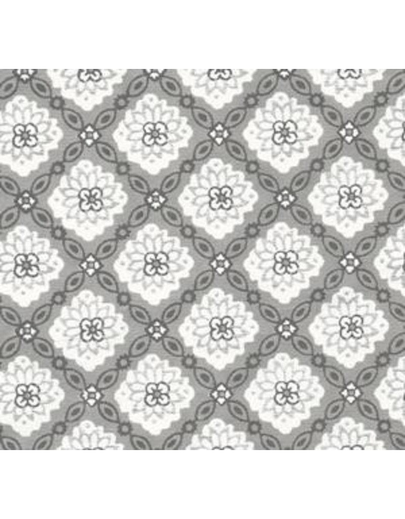 Papier de coton floral fantaisie