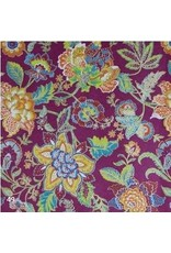 Cotton paper with flower pattern