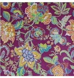 AE171 Papier de coton avec motif de fleurs
