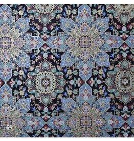 AE179 Katoenpapier fantasie bloemprint