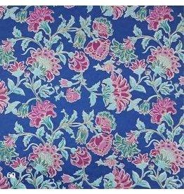AE180 Baumwollpapier mit Blumendruck.