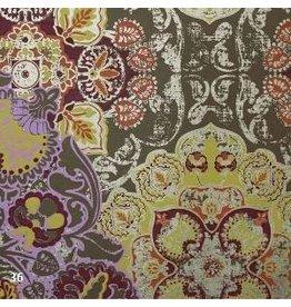 AE181 Baumwollpapier mit Fantasiedruck