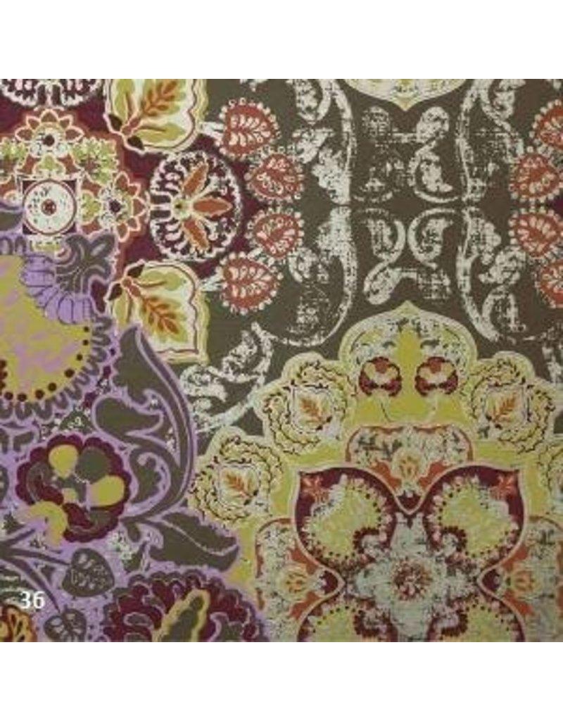 Baumwollpapier mit Fantasiedruck
