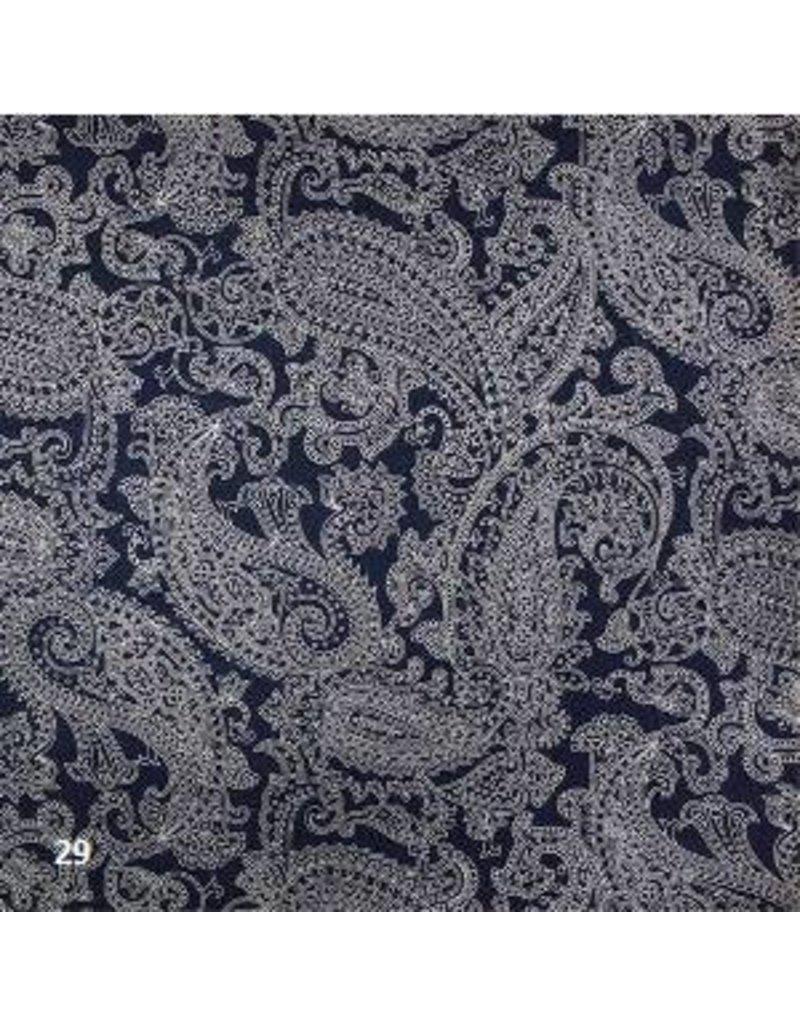 Papier de coton avec impression paisley