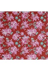 Katoenpapier bloemenprint
