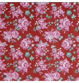 AE186 Cotton paper floral print