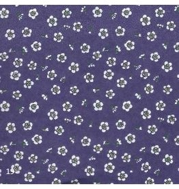 JP205 Japanese paper small flower, 2 col.