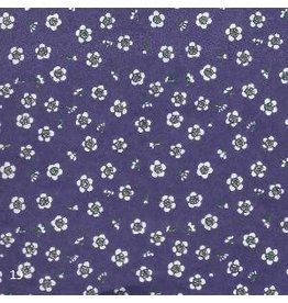 JP205 Papier Japonaise petites fleurs, 2 coul.