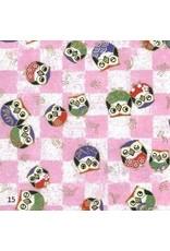 Japans papier met uiltjes print
