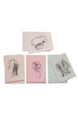 Elephant poop paper cards/envelopes