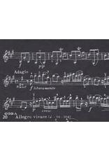 Lokta with music-bar print