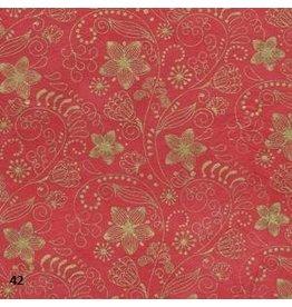 NE208 Papier Lokta avec impression florale