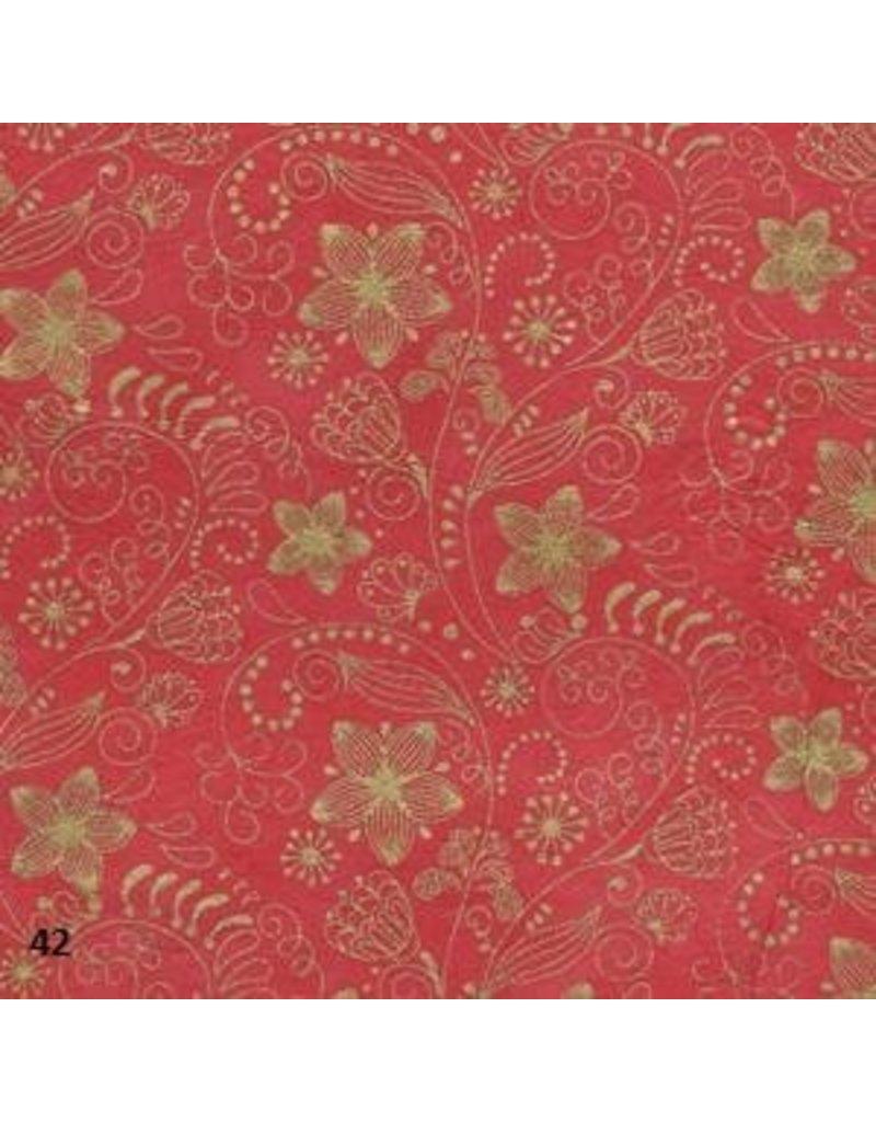 Lokta Papier mit Blumendruck
