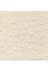 Lokta papier met reliëf hartjes