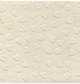 NE740 Loktapaper  with embossed hearts