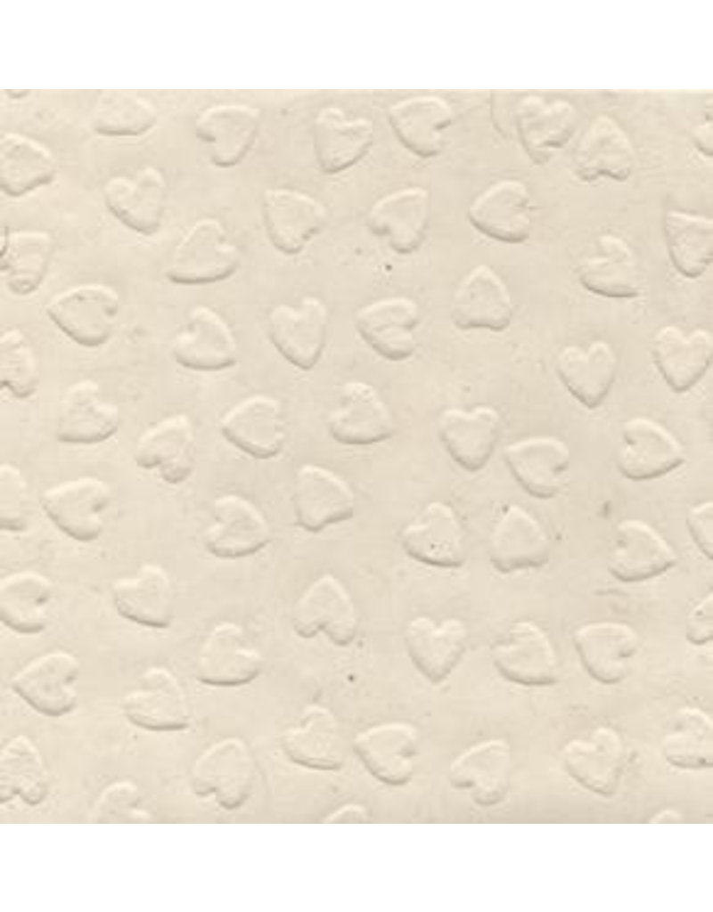 Loktapapier  gepraegten Herzen