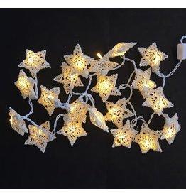 TH067 Licht-slinger met witte sterren
