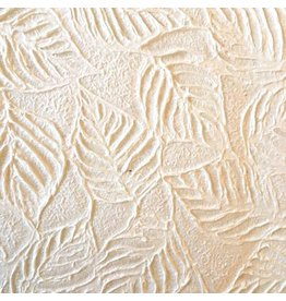 TH089 Mulberry embossed leafs.