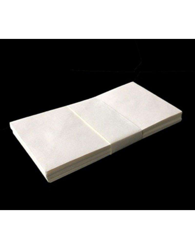 Ensemble de 25 enveloppes de papier de coton,11x22cm