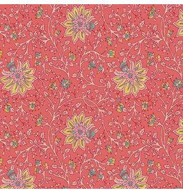 AE154 Baumwollpapier Blumenmuster