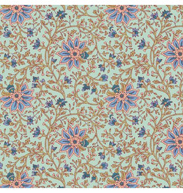 AE154 Katoenpapier bloemmotief