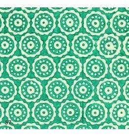 AE165 Papier coton cercles