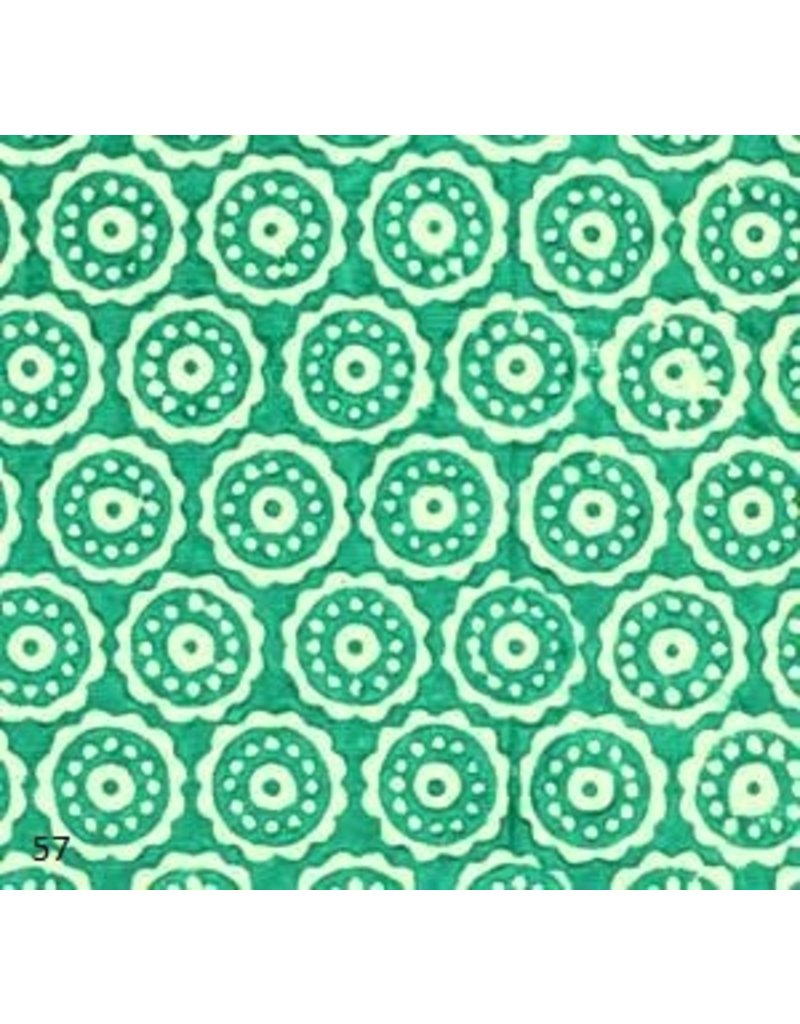 Papier coton cercles