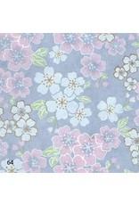 Japanese paper floral design