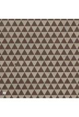 Papier Lokta avec impression des triangles