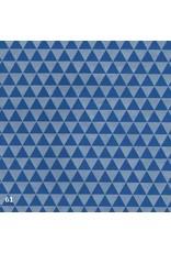 Lokta paper triangles print
