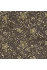 Lokta paper with floral print