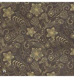 NE208 Lokta paper with floral print