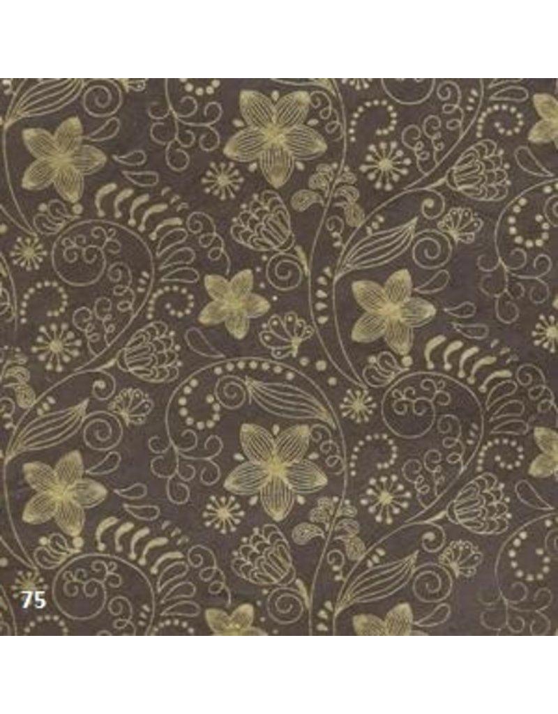 Papier Lokta avec impression florale