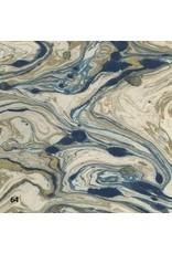 Papier lokta avec marbre impression