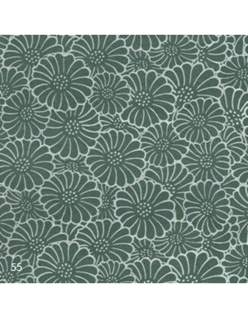 Lokta paper with daisies print