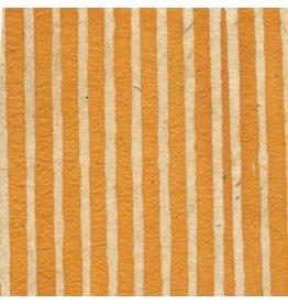 NE434 Lokta-Papier mit Batikstreifen