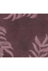 Lokta paper leaf print
