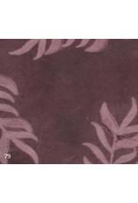Papier Lokta impression de feuilles