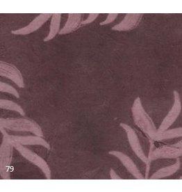 NE455 Lokta paper leaf print