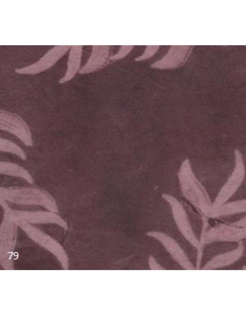 Loktapapier met  solar bladprint