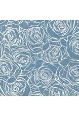 Lokta paper with rose print