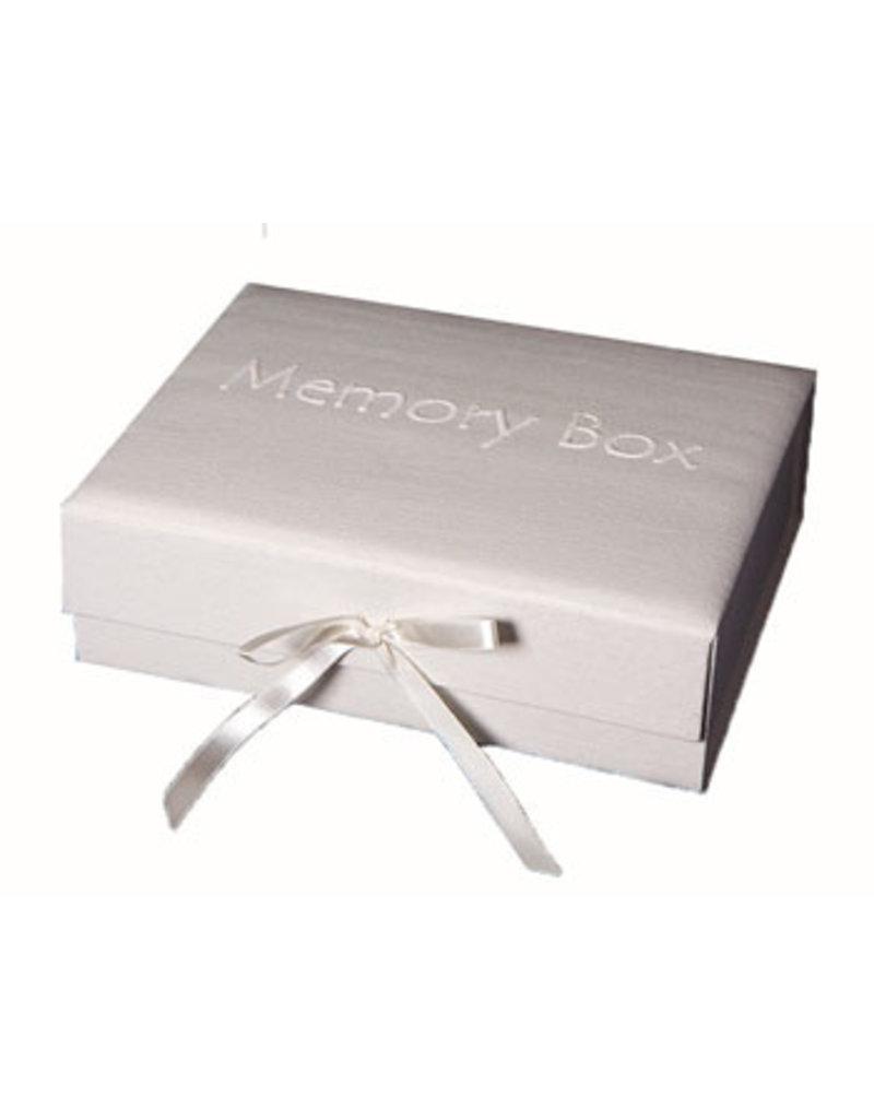 Erinnerungsbox Baumwolle mit Text
